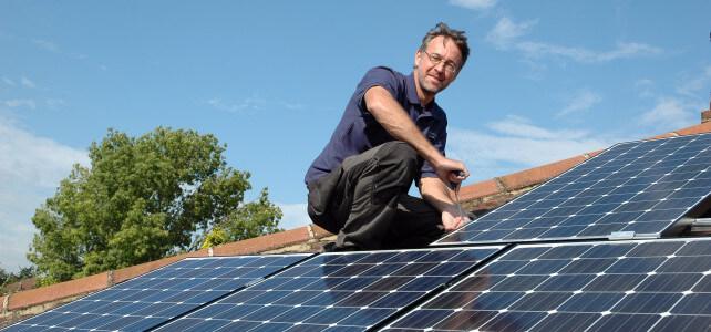 theydon bois solar panels