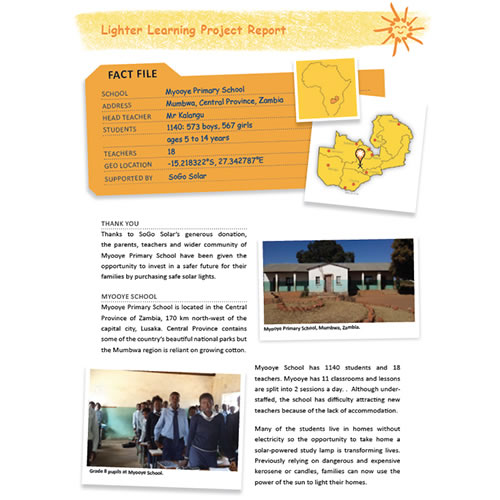 Lighter Learning Project
