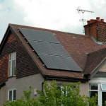 West Finchley solar installation