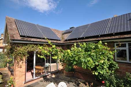 Ruislip solar panels