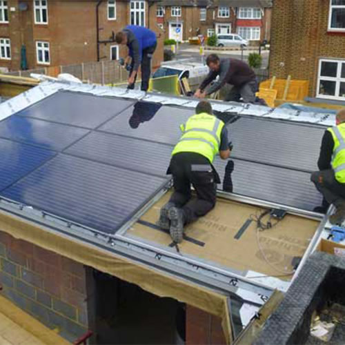 Latest Integrated Solar Panels Installation
