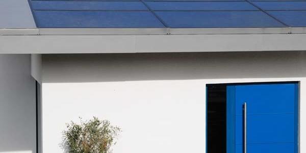 Solar Panels on a Zinc Roof