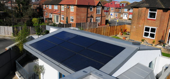 Willesden Green solar panels