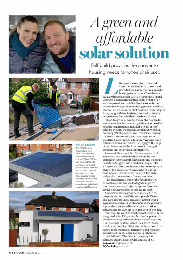 willesden Green solar panels pdf article