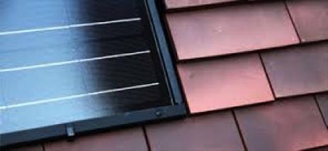 Solar Century C21 solar tile