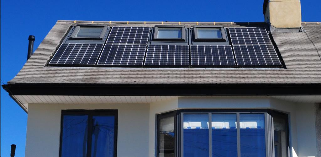 Integrated Solar Panels Installed by SogoSolar